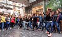 Ein Flashmob für die Freiheit