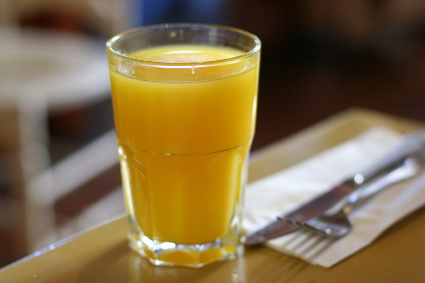 Bald wird der Orangensaft teurer