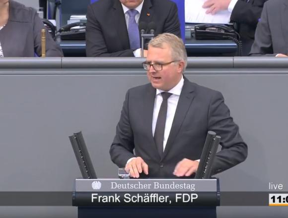 Rede Frank Schäffler zu Besicherung von Target-Forderungen