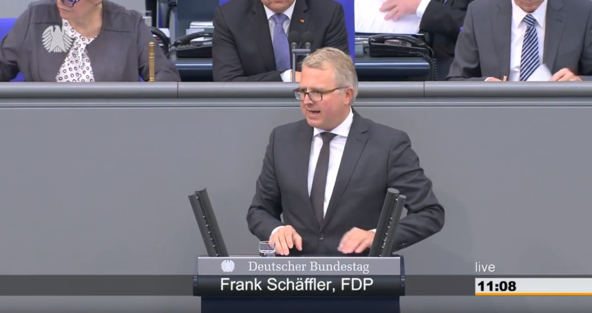 Rede Frank Schäffler zur Satzung der Europäischen Investitionsbank