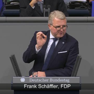 Rede Frank Schäffler zu Europäische Finanztransaktionsteuer