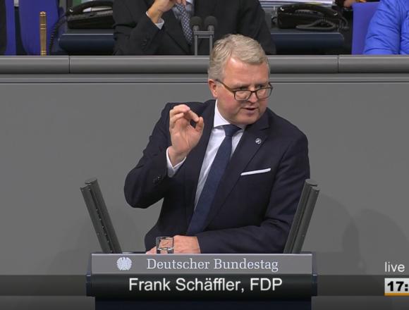 Rede Frank Schäffler zum Thema Europäische Finanztransaktionsteuer